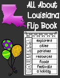 All About Louisiana Flip Book