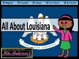 All About Louisiana   US States   Activities & Worksheets