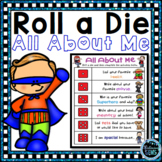 All About Me Activities - Back to School
