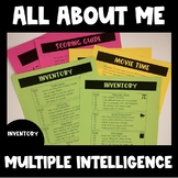 All About ME! 8 Kinds of Smart (Back to School)