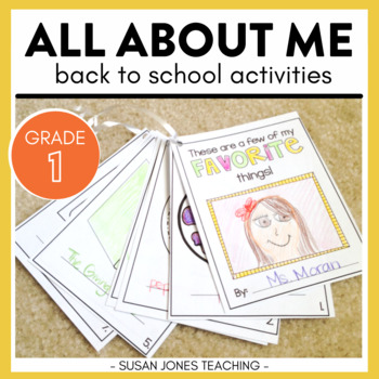 All About ME! A back to School unit