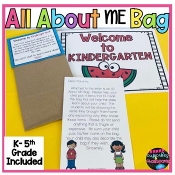 Back to School All About ME Bag