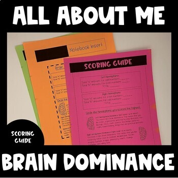 All About ME! Brain Dominance