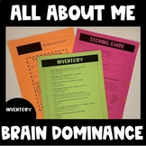 All About ME! Brain Dominance (Back to School)