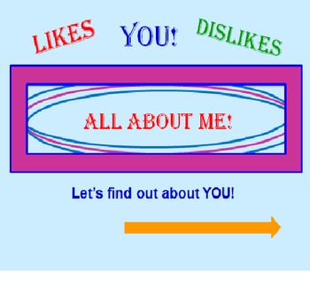 All About Me FREE PowerPoint PREVIEW