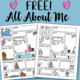 Doodle Notes - All About ME FREEBIE by Science  & Math Doodles