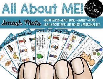 All About ME: Language Smash Mats (NO PREP)