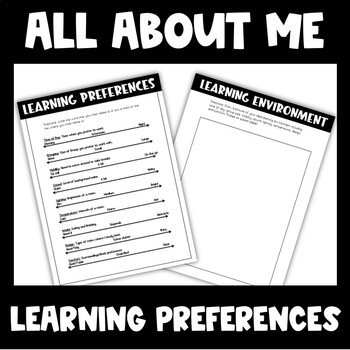 All About ME! Learning Environment