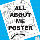 All About ME Poster (Karen's Kids Printables)