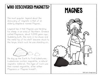 All About Magnets - Interactive Notebook Mini Unit