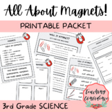All About Magnets Printable Packet - 3rd Grade Science
