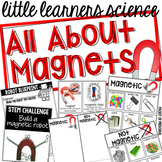 All About Magnets - Science for Little Learners (preschool, pre-k, & kinder)