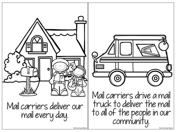 All About Mail Carriers: Interactive Book and Homework Companion