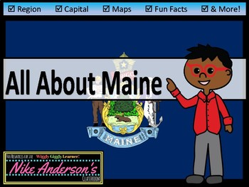 All About Maine | US States | Activities & Worksheets