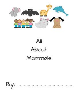 All About Mammals Book