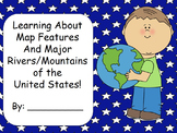 All About Maps Activity Book- Aligned with the 3rd Grade GPS!