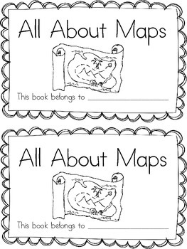 All About Maps Printable Booklet