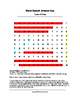 Types of Maps Word Search (Grades 4-5)