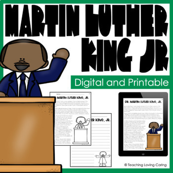 Martin Luther King Jr. Activities - Black History Month