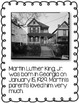 All About Martin Luther King, Jr. Informational Writing: C