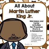 Martin Luther King Jr. for Preschool, PreK, K & Homeschool