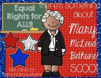 Mary McLeod Bethune Task Cards