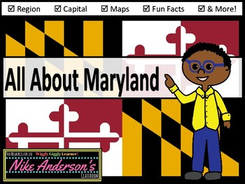 All About Maryland | US States | Activities & Worksheets
