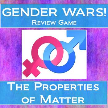 All About Matter Gender Wars (Review Game)