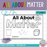 All About Matter NGSS mini-book