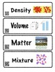 All About Matter Vocabulary Cards