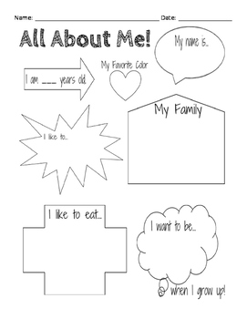 All About Me!