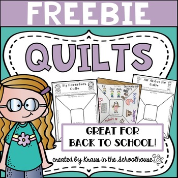 FREEBIE - All About Me Quilts