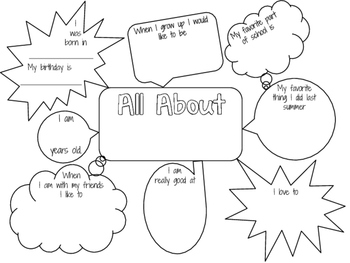 All About Me 1 - 4