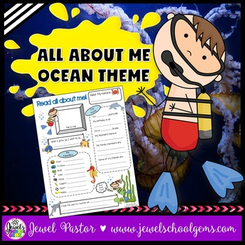 All About Me Ocean Theme