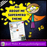 All About Me Superhero Theme