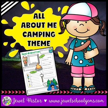 All About Me Camping Theme