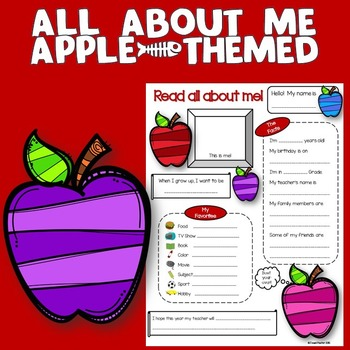 All About Me Apple Theme