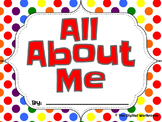 All About Me with an iPad Twist
