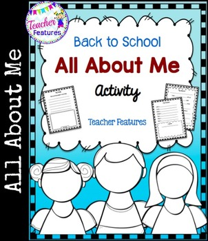 All About Me (First Week Activity)