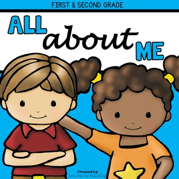 All About Me: First Grade and Second Grade All About Me Activities