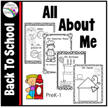 First Day of School Activities * All About Me