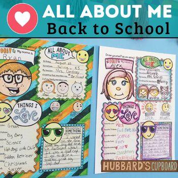 First Week of School - Back to School Activity - First Day of School - Emoji