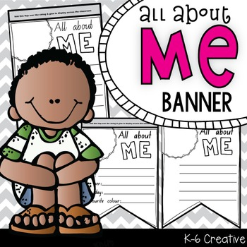 All About Me Banner Project