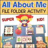 All About Me Activity Lapbook