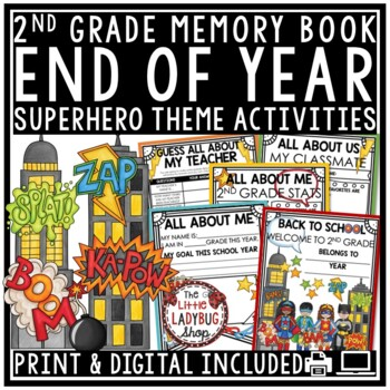 Back to School Activity 2nd Grade  & All About Me Poster- First Week of School