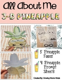All About Me 3-D Pineapple