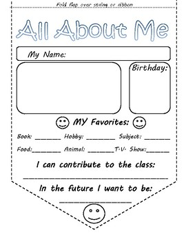 All About Me- Pennants