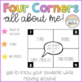 All About Me 4 Corners