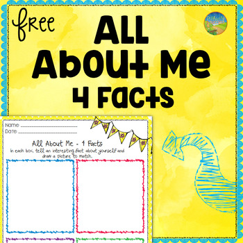 Free All About Me Worksheet