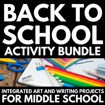 All About Me - Back to School Art and Writing Projects